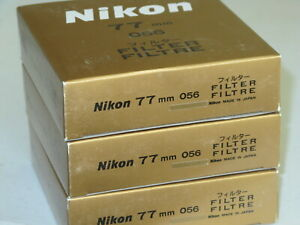 77mm - NIKON ORANGE (O56) NEW Hard to find   > >  WorldWide < <  #77m9-n8