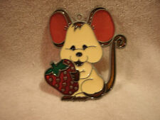Mouse With Strawberry Suncatcher