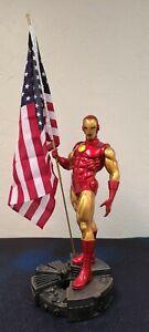 Classic Iron Man Comiquette Sideshow Statue Marvel RARE Tony Stark Avengers