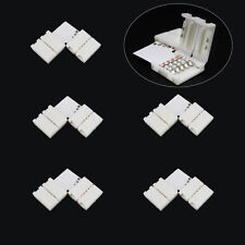 WOW - 5 X 5-pin L Shape PCB Connector Adapter 12mm for 5050 RGBW LED Strip Light