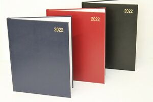 2022 'QUARTO, A5 OR A4' WEEK TO VIEW OR DAY A PAGE HARDBACK APPOINTMENT DIARIES.