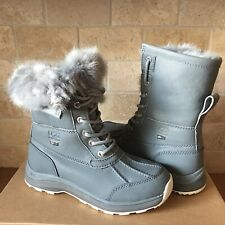 UGG Adirondack III Fluff Geyser Waterproof Leather Snow Boots Size US 8 Womens