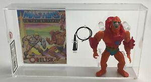 MOTU Vintage Loose Beast Man with Comic Series 1 Taiwan 1982 UKG 85%