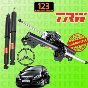 4 Ammortizzatori Mercedes Classe A (W169) dal 2004 > Anteriori+Posteriori TRW