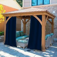 """Curtain Outdoor Gazebo UV Ray Protected Waterproof-Easy To Hang On 50x108"""""""