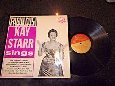 Fabulous! Kay Starr canta 1961 LP (EX/EX condición)