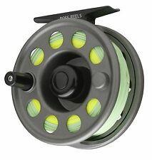 NEW $90 ROSS FLYSTART 2 FLY REEL OUTFIT GREY #5/6 WT. WITH LINE, LEADER, BACKING