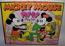 Mickey Mouse Pop-Up Colorforms Play Set No.4100 High Grade Unused Vintage