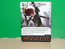 DICE MASTERS MARVEL Avengers vs. X-Men - Carta de Black Widow 036 (only card)