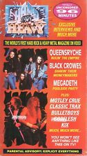 HARD N HEAVY Volume 14 ~ VHS~ Megadeth -  Motley Crue - Bulletboys - UNCENSORED