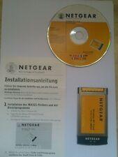 PCMCIA Cardbus WLAN Wifi Wireless Netgear MA521 für Notebooks