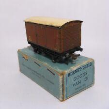Vintage 1940's-1950's HORNBY-DUBLO OO Gauge GOODS VAN D1 w/Original Box Meccano
