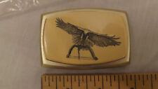 Vtg Golden Eagle Compound Bow Belt Buckle NOS Canada