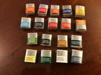Winsor and Newton Professional Artist Half Pan Water Colours- listing 2 of 2