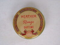 """Vintage 1940's Little Tin of Heather Rouge Titled """"Daytime"""" *"""