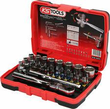 """KS Tools 918.3005 Boîte de douilles 1/4"""" Embouts vissage TORSIONpower, 33 pcs"""