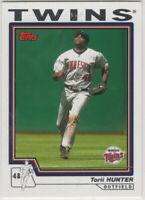 2004 Topps Baseball Minnesota Twins With Traded Team Set