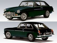 WOW EXTREMELY RARE MGB MkII GT Coupe RHD 2.6L 1969 BR Green 1:43 Auto Art-Spark