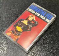 Smantha Fox I Wanna Have Some Fun  Cassette Tape 1988 RCA Jive