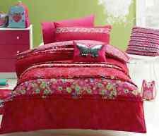 3 pce Jiggle Giggle Girls Katrina Butterfly Double Bed Quilt Cover Set