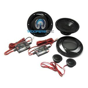 """MEMPHIS PRS6V2 CAR 6.5"""" POWER COMPONENT SPEAKERS MIDS TWEETERS CROSSOVERS NEW"""