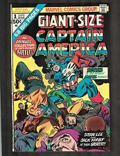 Giant Size Captain Marvel #1 ~ Annual, 1975 (Grade 8.0) WH