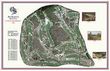 Old Sandwich Golf Club - 2004 - Coore/ Crenshaw a Vintage Golf Course Map print