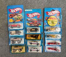 Lot of 12 Early 1980s Hot Wheels Nib