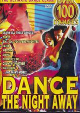 DANCE THE NIGHT AWAY 5 Disc DVD - All Zone - Over 100 Dances - Ultimate