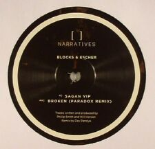 "BLOCKS & ESCHER - Sagan VIP - Vinyl (12"") Narratives"