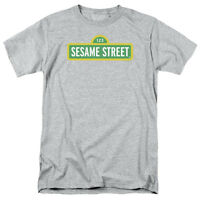Sesame Street LOGO Licensed Adult T-Shirt All Sizes