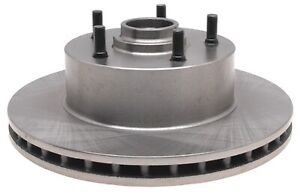 Front Disc Brake Rotor and Hub Assembly ACDelco 18A807A