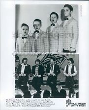Comparison Osmond Brothers in 1960 & in 1984 TV Special Press Photo