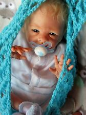 reborn baby  boy preemie Buttercup with belly plate by Bonnie  Brown