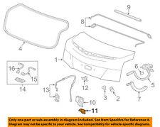 GM OEM Trunk Lid-Latch Cover 13509528