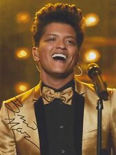 Bruno Mars (Live) Grenade 24K Magic That's What I Like RARE SIGNED RP 8x10!!!