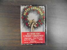 """NEW SEALED """"Merry  Christmas """" We Wish You A Merry Christmas Cassette Tape   (G)"""