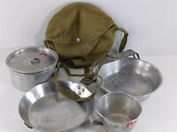 BSA Vintage Wearever No. 888 Mess Cook Kit Official Boy Scouts of America