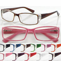 R144 Super Bright-Colored Plastic Reading Glasses & Spring Hinges & Super Value