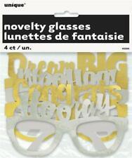 Graduation Novelty Glasses x 4