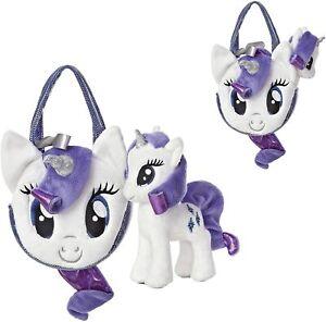 Aurora Rarity 6.5-Inch My Little Pony with Pony Tail Purse