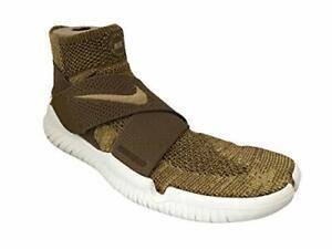Nike Men's Free RN Motion FK Golden Beige Sz 10.5 942840-201 Running Shoes
