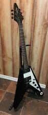Epiphone Goth Flying V Made in Korea Black 6 String Electric Guitar