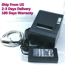 Epson TM-T88III M129C POS Thermal Receipt Printer Parallel Port w/ Power Supply