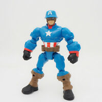 Marvel Super Hero Mashers 6inch Captain America ACTION FIGURES Toys Gifts LOOSE