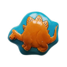 Dinosaur Drawer Cupboard Cabinet Door Knobs Handle - Each When You Buy 2 Young Triceratops