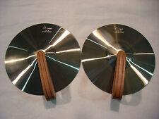 Sonor V-3901 Cymbel Becken 1 Paar - Silberbronze - Lagerabverkauf Nr. 2676