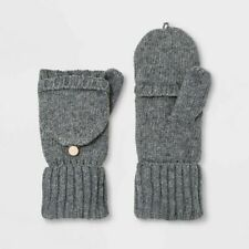 A New Day Women's Knit Flip-Top Mittens - Various Colors - One Size - New