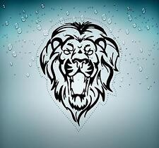 Sticker car decal rasta reggae JAH tribal lion of judah one love rastafarai r2