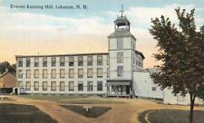 LEBANON, NH New Hampshire  EVERETT KNITTING MILL  Grafton Co  c1910's Postcard